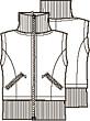 Knipmode 1211 - 24 Bodywarmer