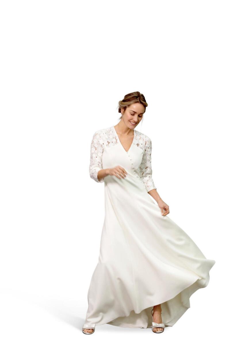 Knipmode 0519 - 17 bruidsjurk