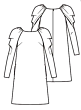 Knipmode 1119-03 Jurk