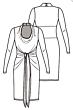 Knipmode 1119-15 Jurk