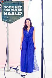 Knipmode 1404 - 16 Maxi-dress