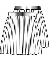 Knipmode 1506 - 31 Plissérok