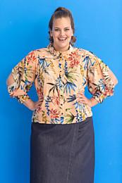Knipmode 0519 - 13 blouse