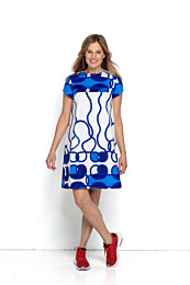 Knipmode 0519 - 6 jurk