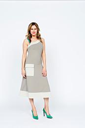Knipmode 0719 - 22 jurk