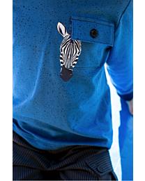 Knippie transferprint zebra
