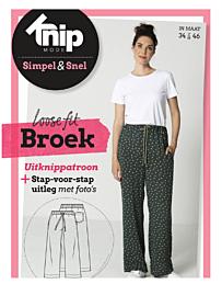 Knipmode Simpel & Snel Broek