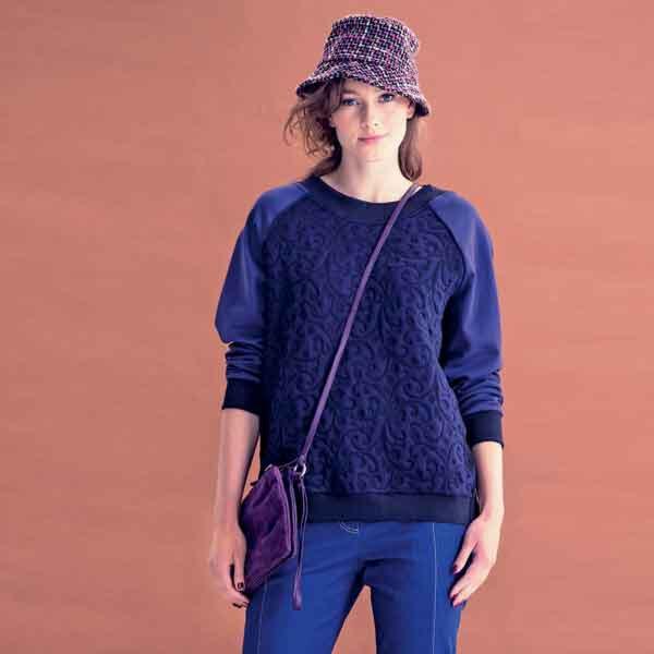 Knipmode 1409 - 04 Sweater