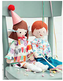 Knippie 0116 - 31 poppenkleertjes Lotte & Luuk 1 jaar