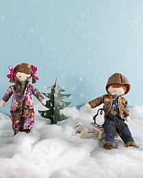 Knippie 0616 - 40 Poppenkleding wintersport