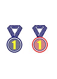Transferprint Medaille