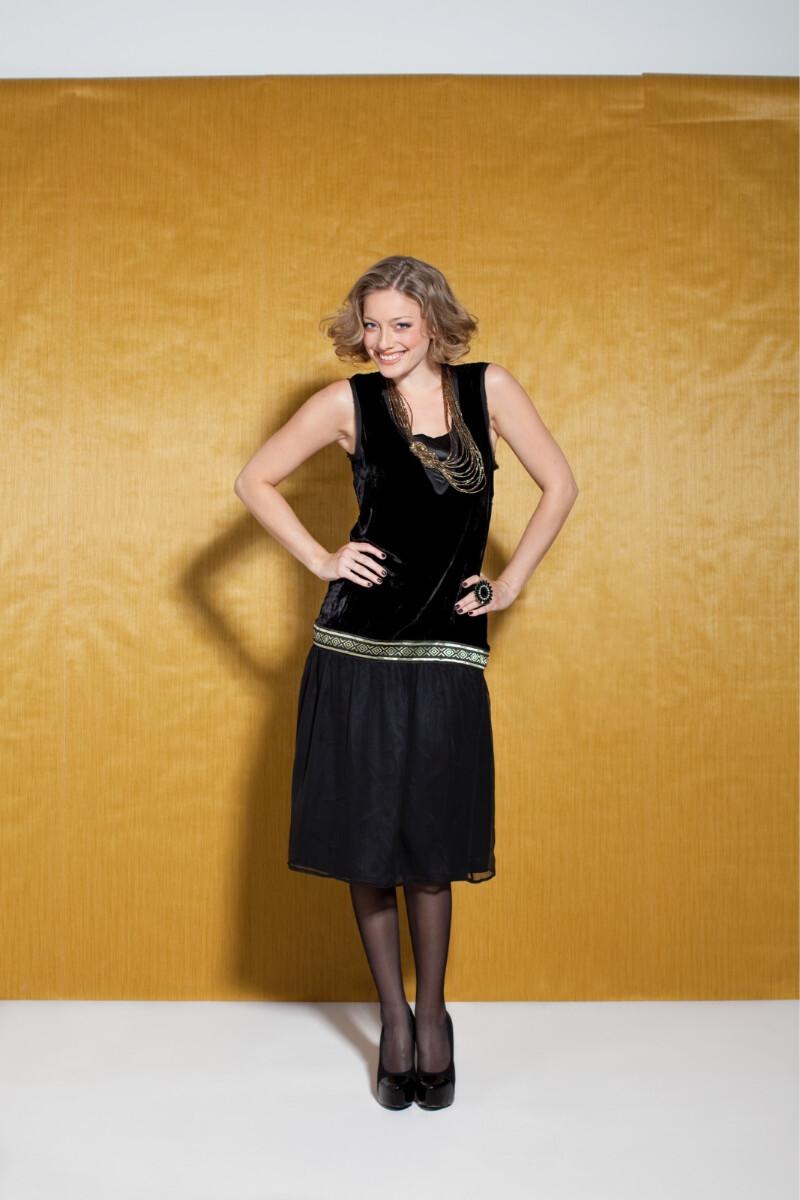 Knipmode 1211 - 6 jurk