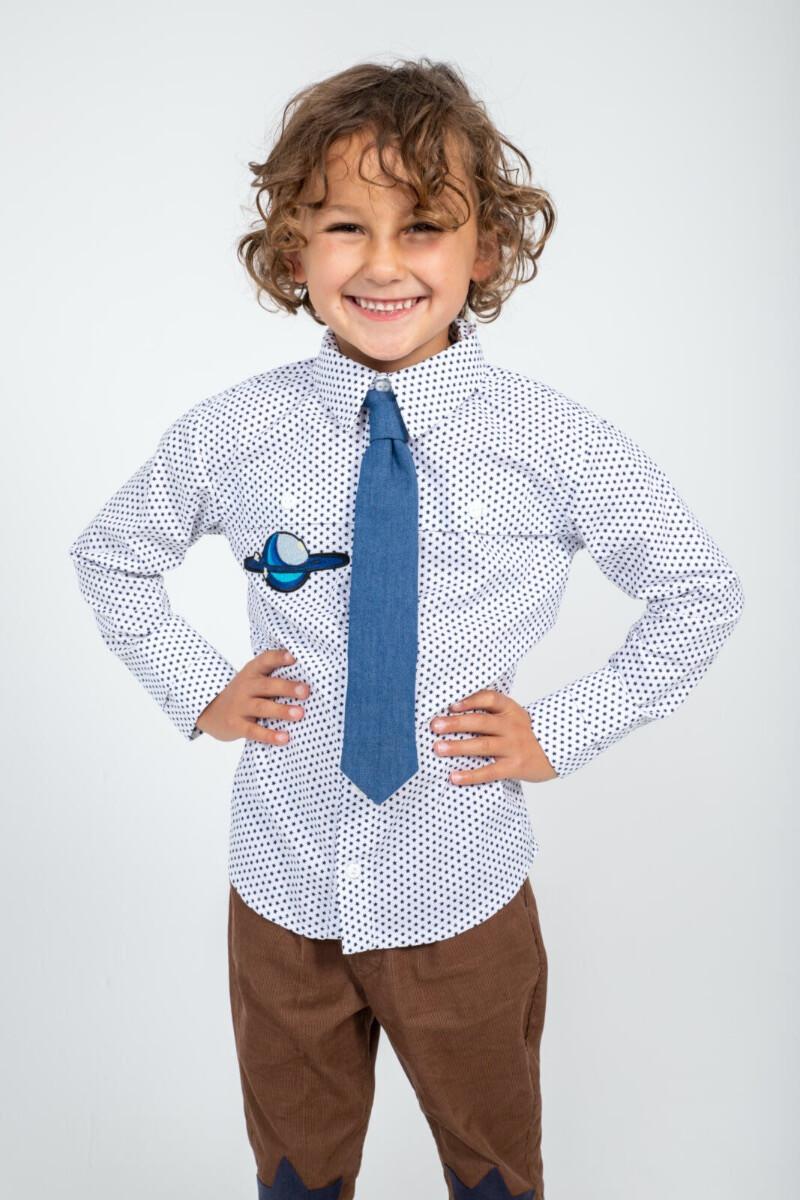 KNIPkids 0520 - 19 - Overhemd + stropdas