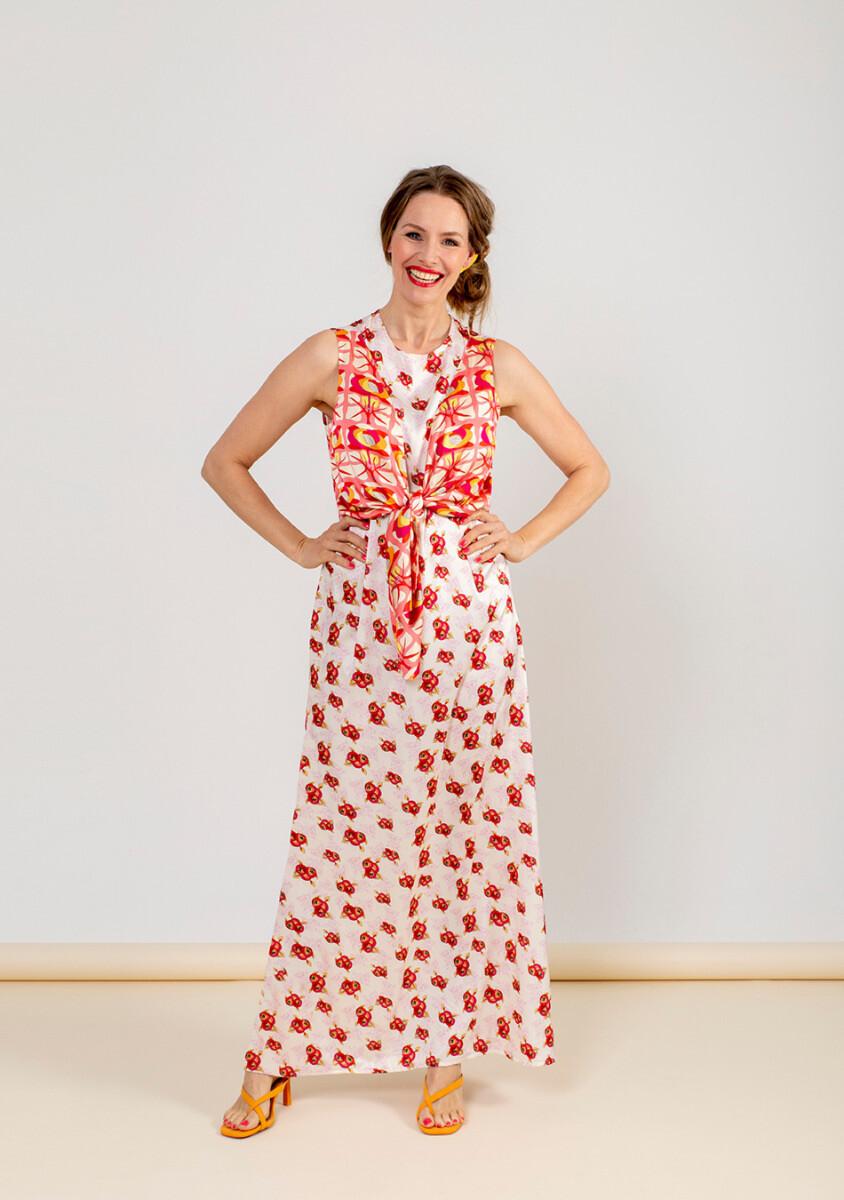 Knipmode 0721 - 19 - Maxi-jurk
