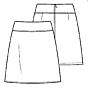 Knipmode - Basis patroon rokje