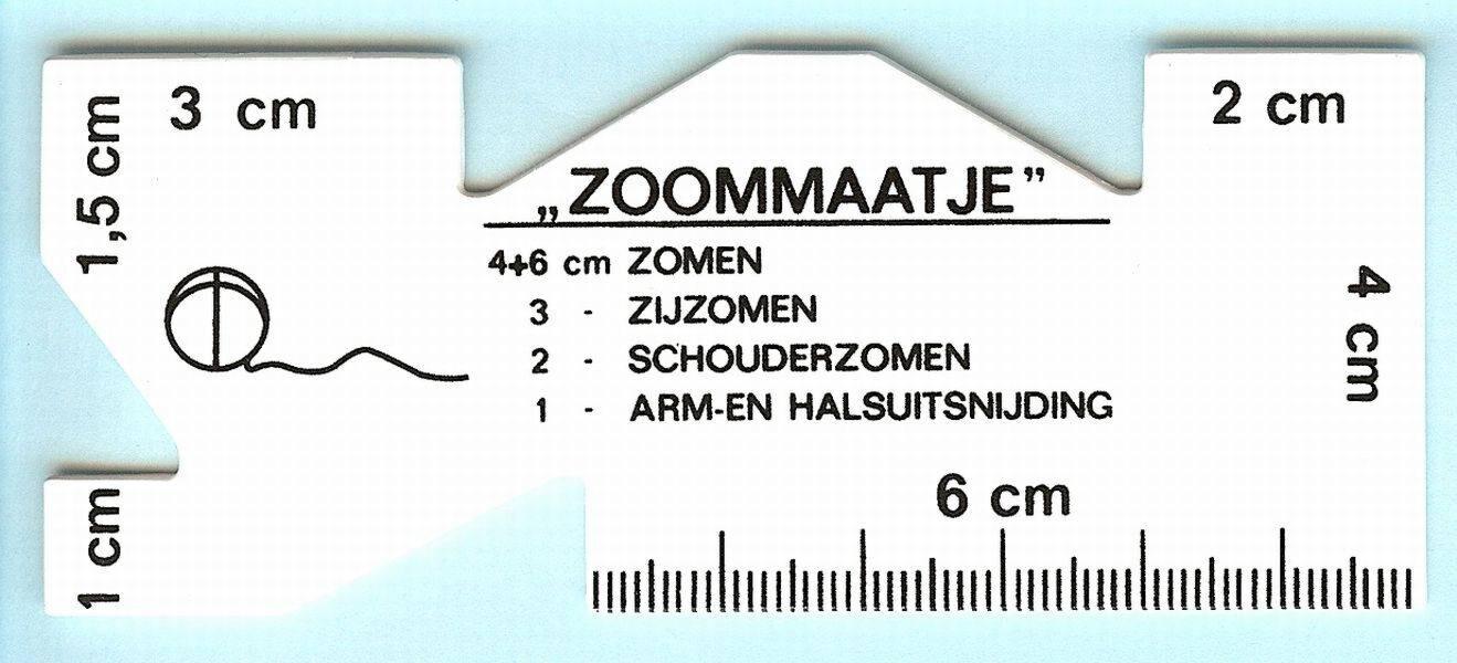 zoommaatje rechthoek