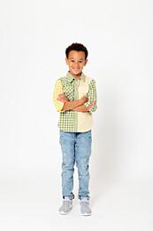 Knipkids 0120 - 20 Overhemd Mini Me