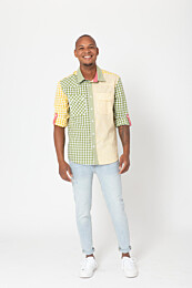 Knipmode 0320 - 1 Overhemd Mini Me