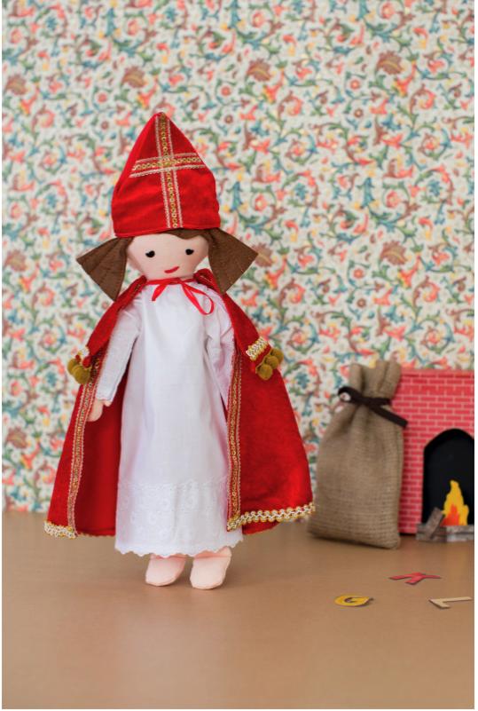 Knippie 0515 - 27 Poppenkleertjes Sint en Piet