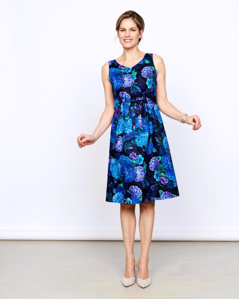 Knipmode 0420 - 13 jurk