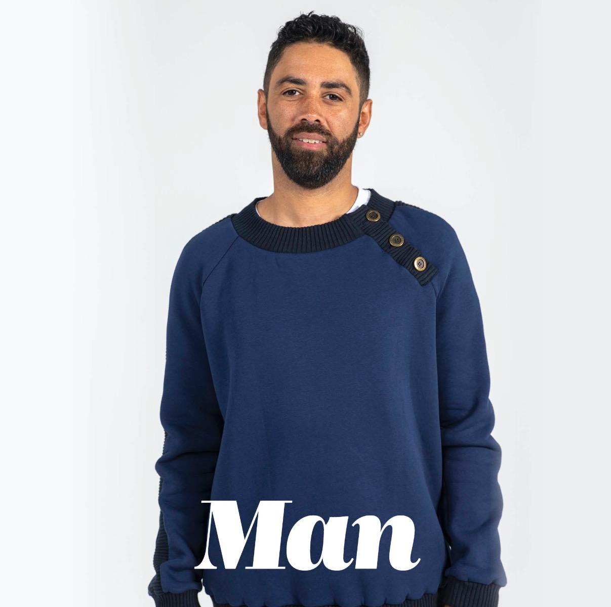 Knipmode patronen voor mannen
