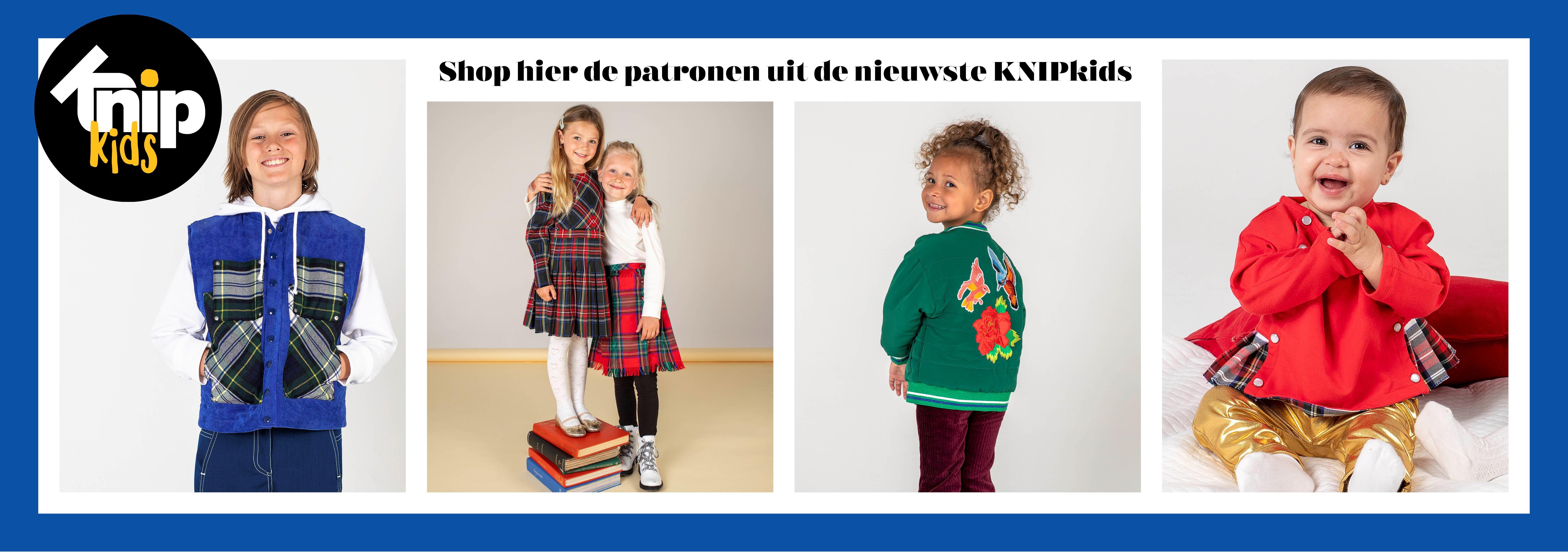 De nieuwe KNIPkids 5 oktober/november 2021 naaipatronen