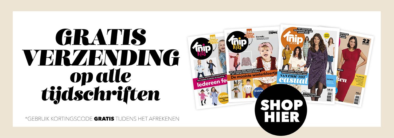 Gratis verzending tijdschriften